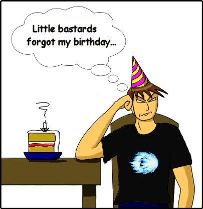 HAPPY BIRTHDAY TO ME?