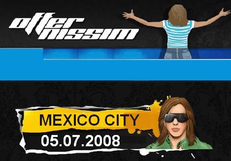 "OFFER NISSIM 05.07.2008 ""GAY PRIDE CLOSING EVENT KARMABEAT MEXICO CITY"""