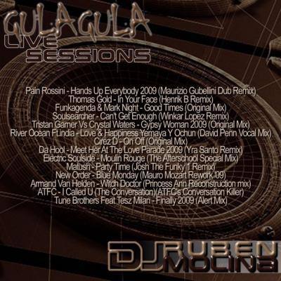 DJ RUBÉN MOLINA @ GULA GULA CUERNAVACA - LIVE SESSION 02.10.09