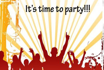 IT'S TIME TO PARTY: ENJOY THIS WEEK(END) !!