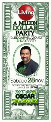 THE ONE MILLION SESSION BY DJ EDGAR VELAZQUEZ PART 1 [B-DAY PARTY NOV.2009]