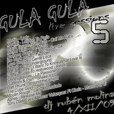 RUBEN MOLINA - LIVE SESSION @ GULA GULA 04-12-09