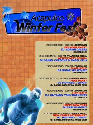 ACAPULCO WINTER FEST '09 @ ZOOM