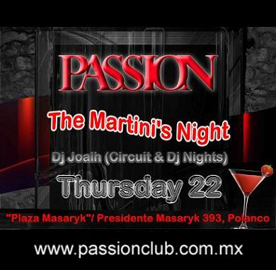 PASSION → JOALH → TAVO → CIRCUIT & DJ NIGHTS...