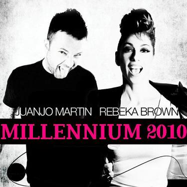 JUANJO MARTIN FT. REBEKA BROWN – MILLENNIUM 2010 [REMIXES]