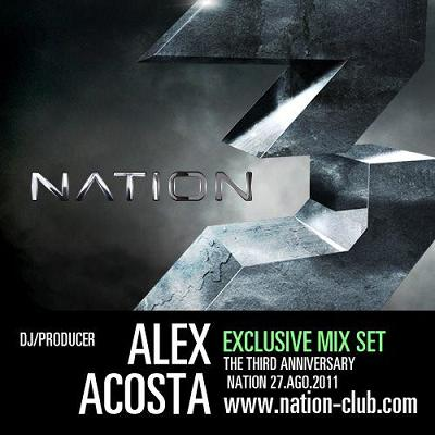 ALEX ACOSTA PRESENTS NATION 3 (SPECIAL ANNIVERSARY SET)