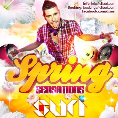 DJ SURI - SPRING SENSATIONS (ABRIL 2012)