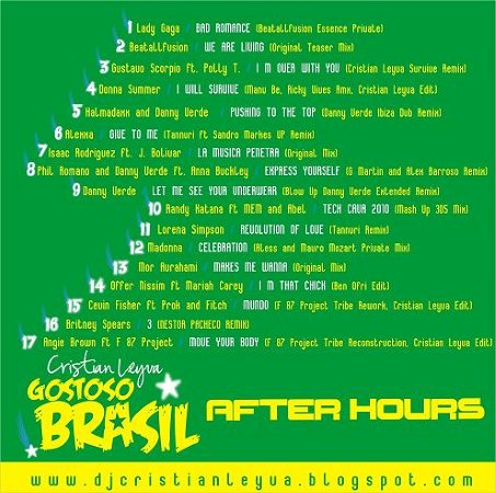 Gostoso Brasil After Hours [Set Mix Part 2]