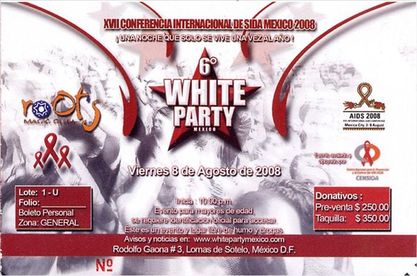 White Party Mexico 2008